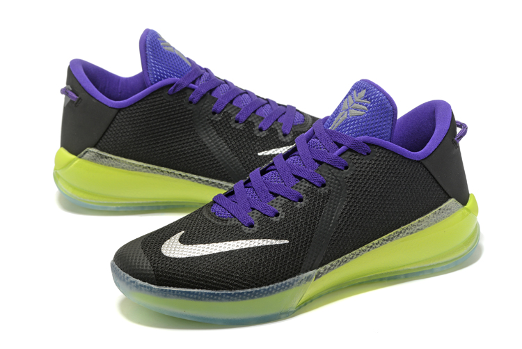 New Kobe Venomenon 6 Black Purple Yellow Shoes