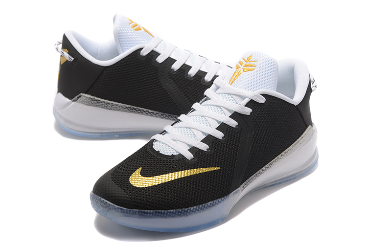 New Kobe Venomenon 6 Black White Gloden Shoes
