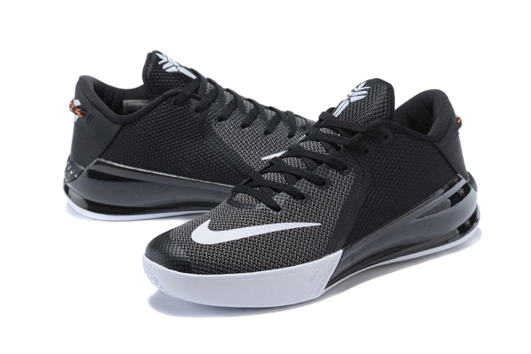New Kobe Venomenon 6 Black White Shoes