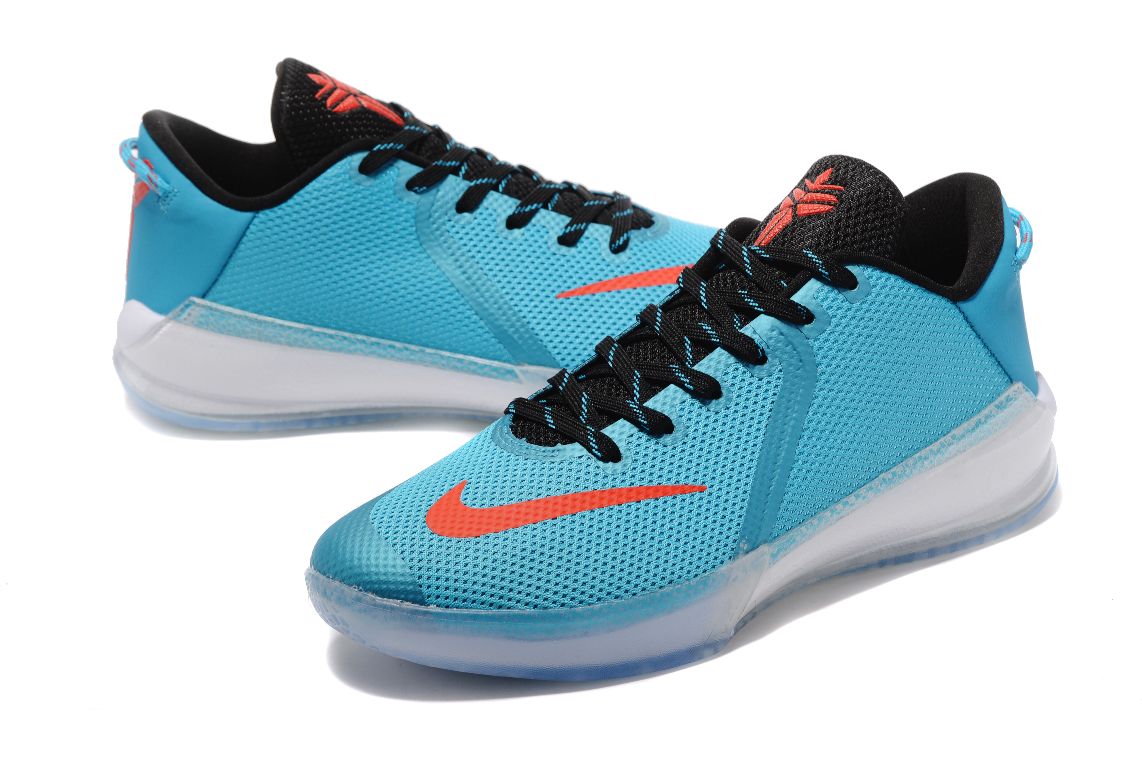 New Kobe Venomenon 6 Ice Blue Black Orange Shoes