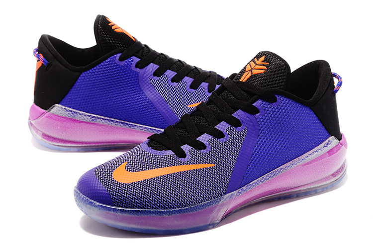 New Kobe Venomenon 6 Orange Purple Shoes