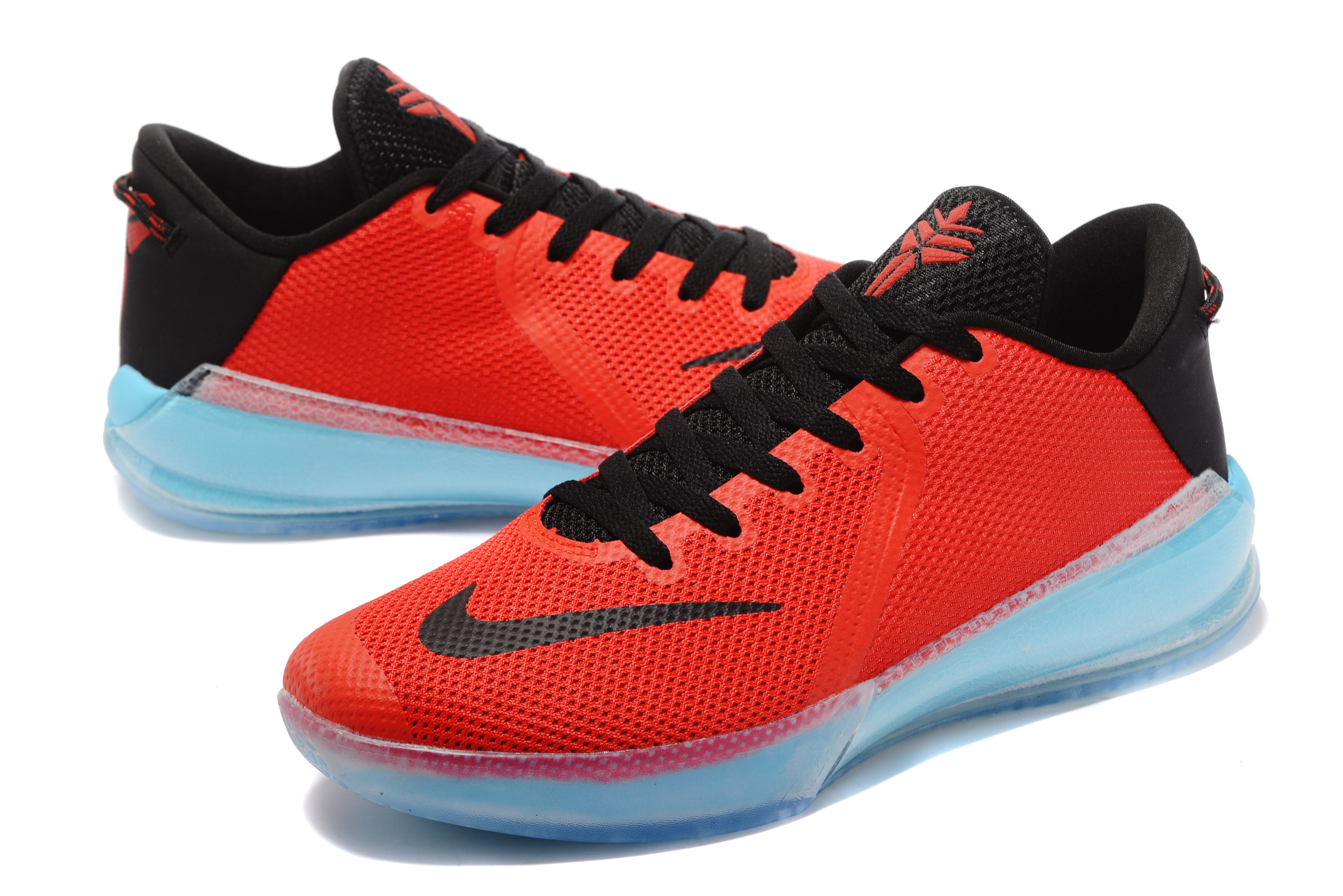 New Kobe Venomenon 6 Red Black Ice Blue Shoes