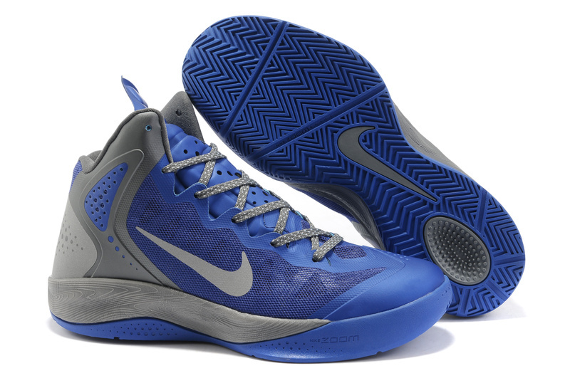 New Nike Blake Griffin 2 Classic Blue Grey Shoes