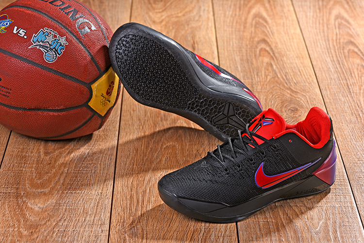 2018 Kobe AD Black Red Swoosh Shoes For Sale