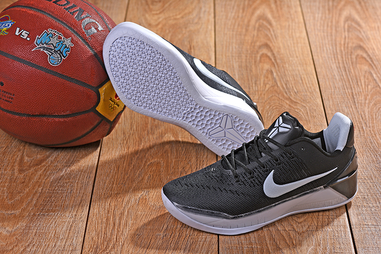 2018 Kobe AD Black White Shoes For Sale