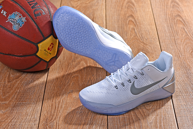 2018 Kobe AD White Sliver Shoes For Sale
