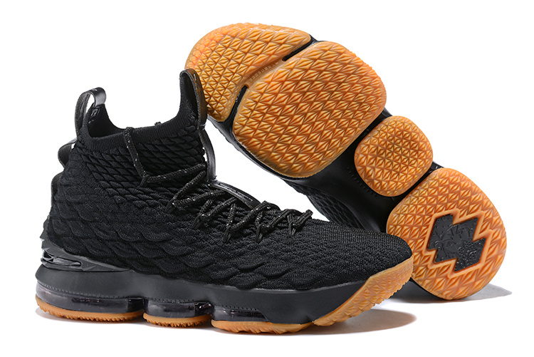 2018 lebron 15 Black Gluer Shoes For Sale