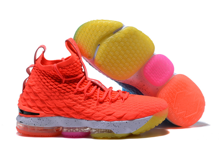 2018 lebron 15 Icy And Fire Shoes For Sale