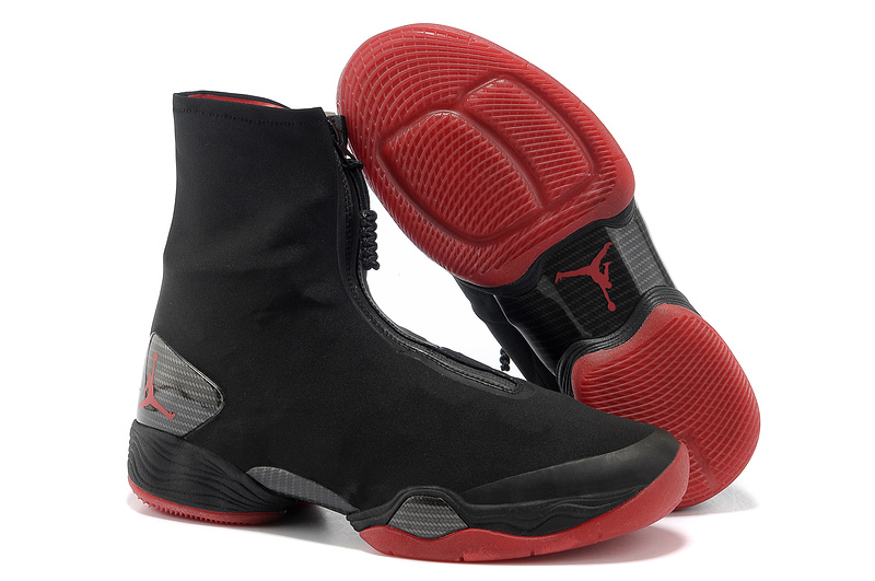 New Retro 2013 Air Jordan 28 Classic Black Red Shoes