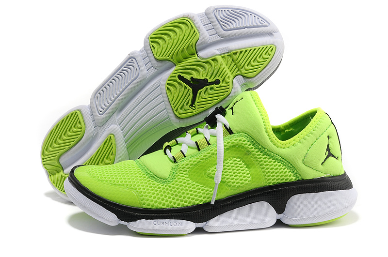 Newest 2013 Air Jordan Classic Running Green Black White Shoes