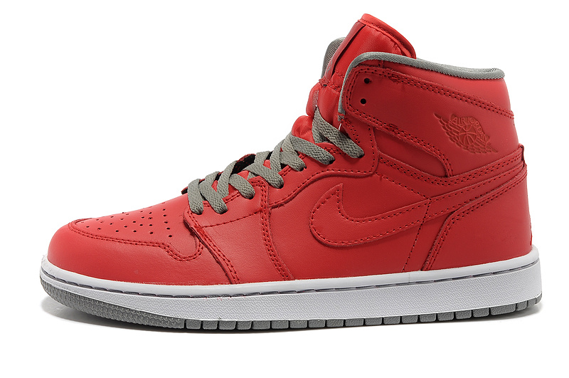 Newest Air Jordans 1 Classic High Red White