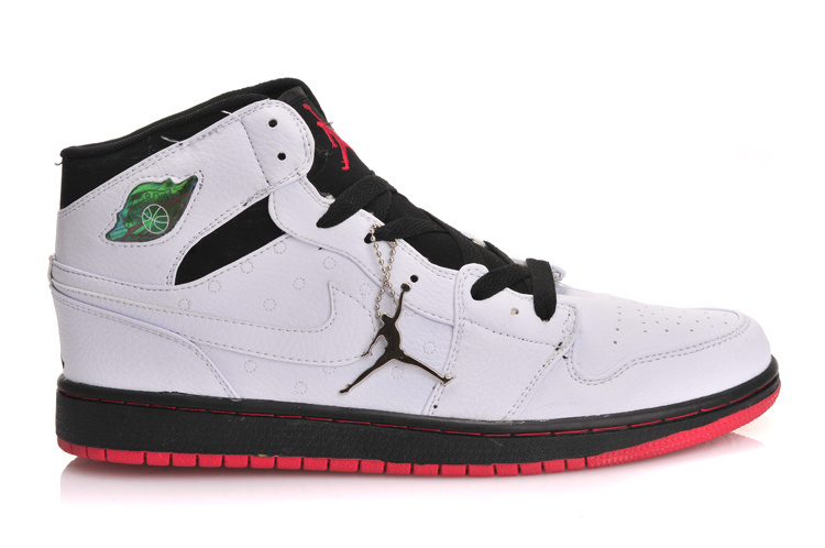Newest Air Jordans 1 Classic Inserted Air Cushion White Black Red
