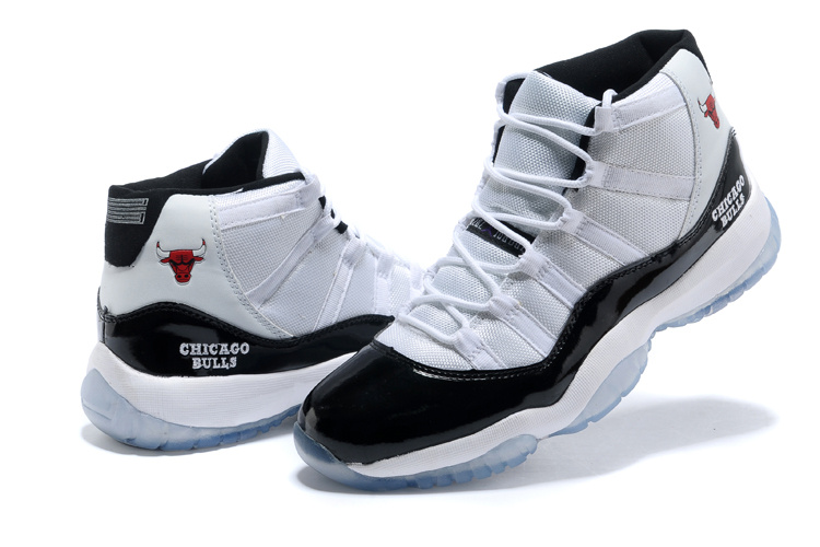 Newest Air Jordans 11 Classic White Black