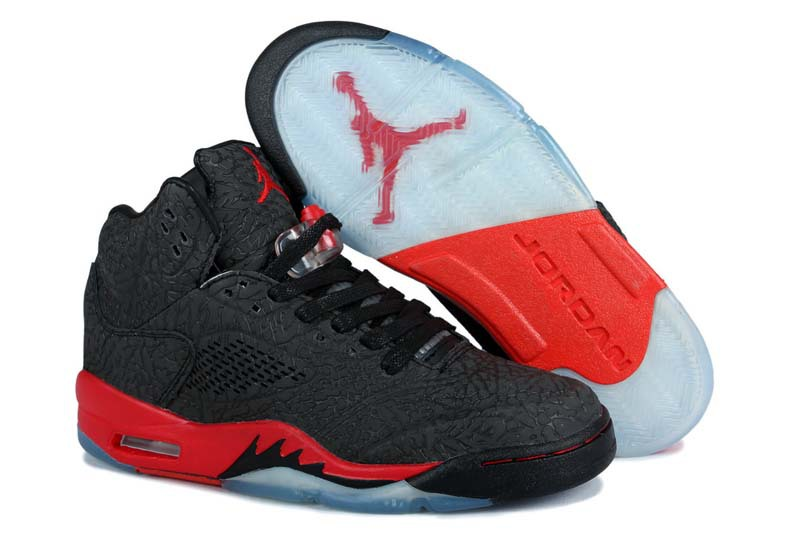 Newest Air Jordans 3LAB5 Retro Black Red