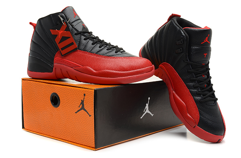 Newest Air Jordans 4 HardbackRetro Black Red