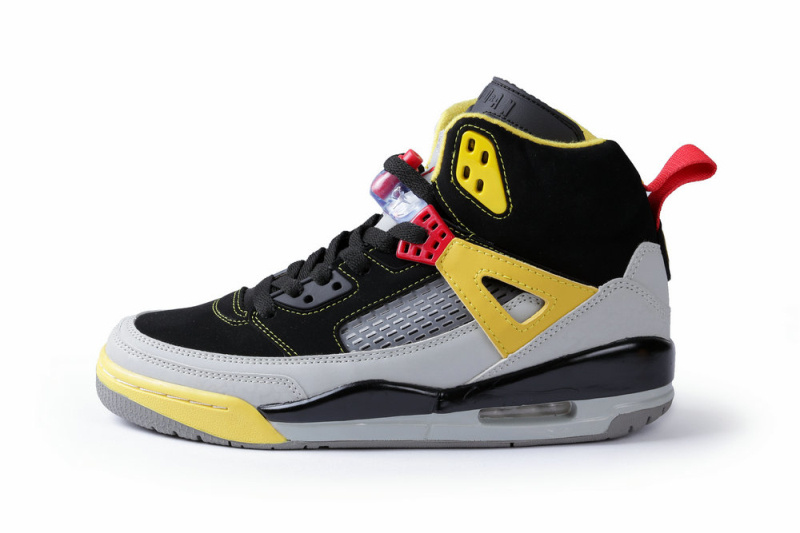 Newest Air Jordans Spizike Retro Black Grey Yellow