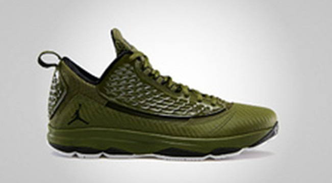 Newest Jordan CP3 2 Classic Green Brown Shoes