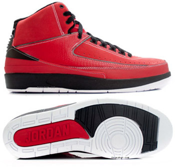 Newest Jordans 2 Classic Red Black Chrome