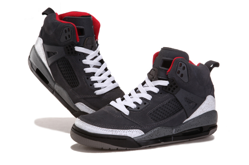 Newest Jordans 3.5 Suede Classic Grey White Black Red