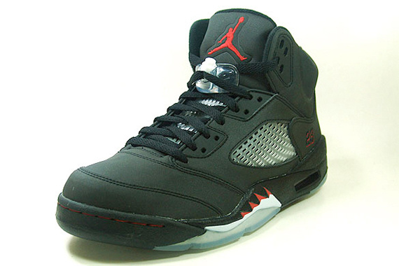 Newest Jordans 5 Retro Raging Bull Pack Varsity Black