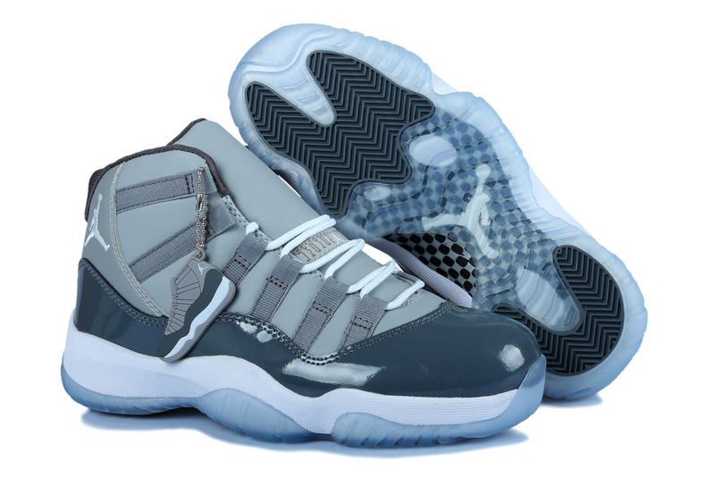 Newest Original Jordan 11 Grey For Women
