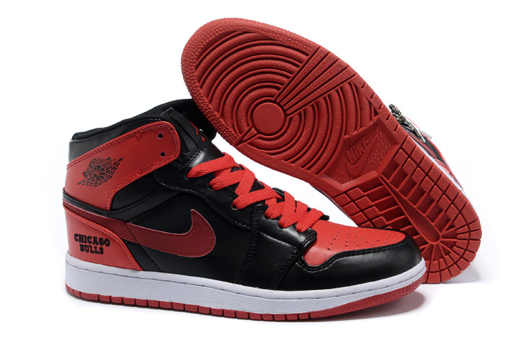 Newest Retro Air Jordans 1 Black Red