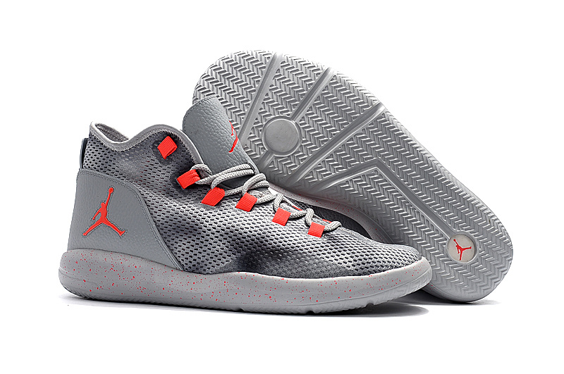 Newly Jordans 2017 Grey Orange Sneaker