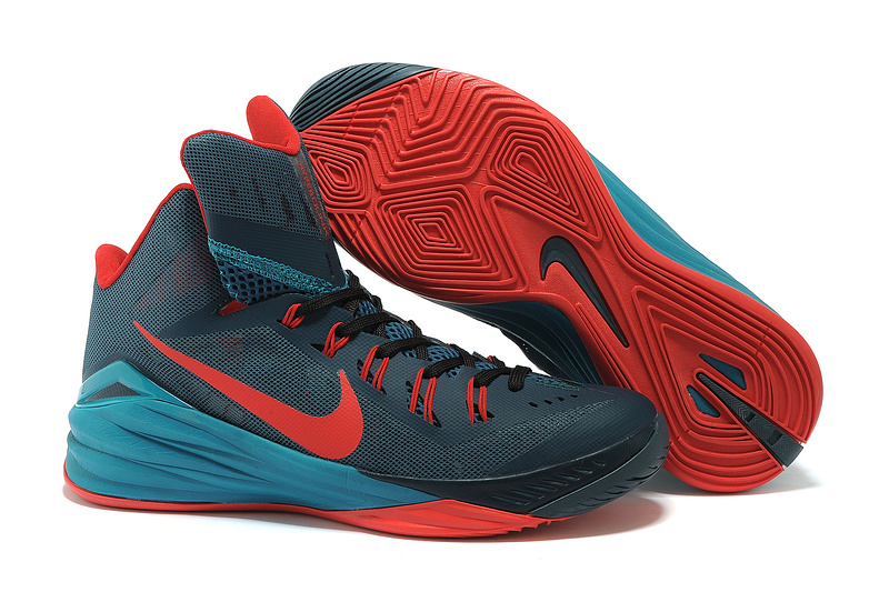 Nike Hyperdunk 2014 XDR High Black Red Basketball Shoes