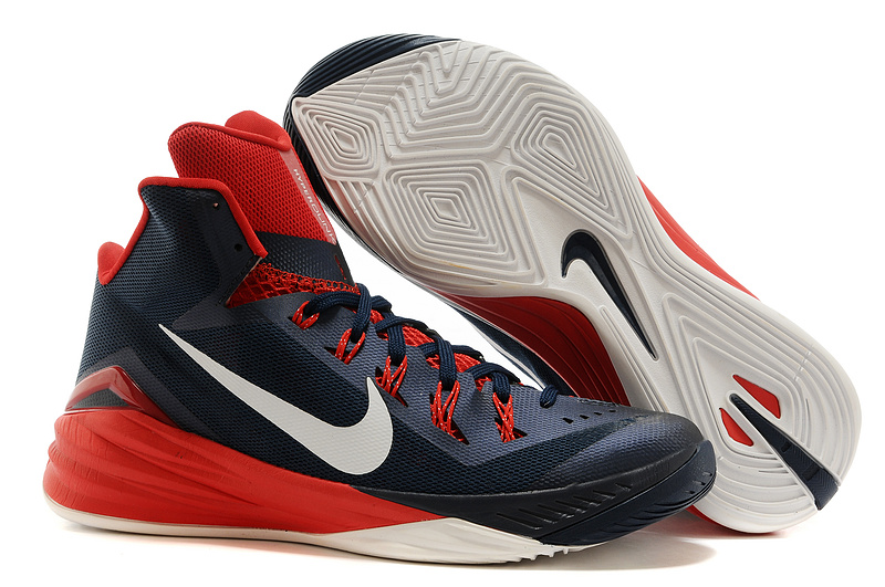 Nike Hyperdunk 2014 XDR High Black Red White Basketball Shoes