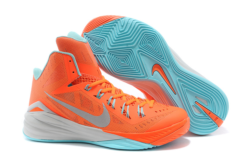 Nike Hyperdunk 2014 XDR High Orange Green Basketabll Shoes