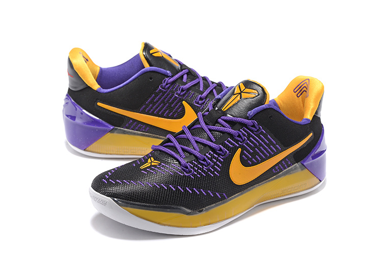 Nike Kobe AD Black Purple Gloden Basketball Shoes