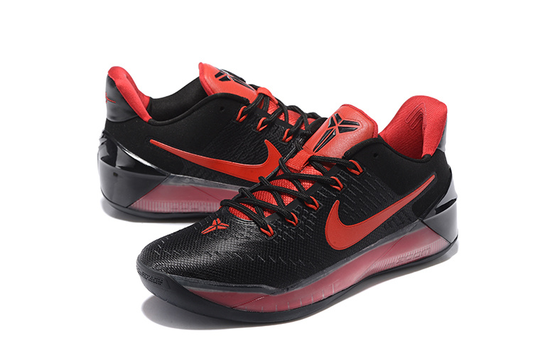 Nike Kobe AD Black Red Basketball Shoes