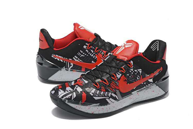 Nike Kobe AD Black Red White Shoes