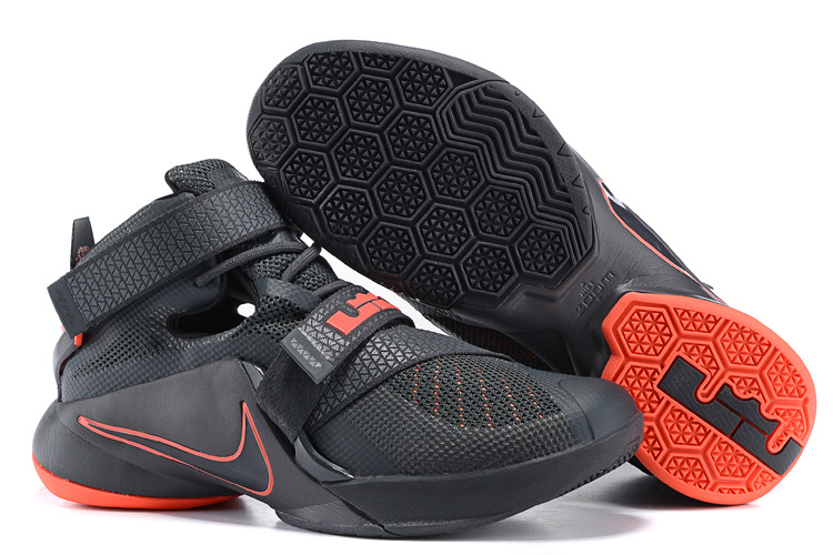 New Nike Solider 9 Osugi Black Basketball Shoes