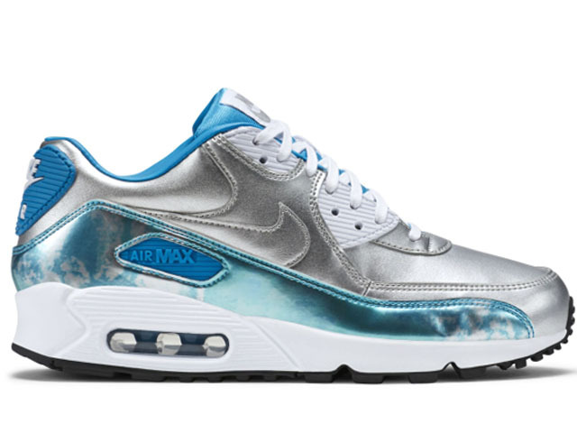 Nike 90S Air Max Cherry Blue Sliver Runnings Women Shoes