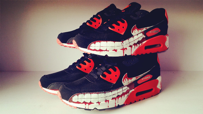 Nike 90S Air Max Ghoul Serie Lovers Shoes