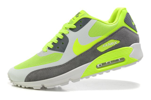 Nike 90s Air Max Premium Green Grey White Lovers Runnings Shoes