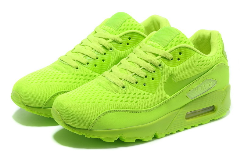 Nike Air Max 90 Premium Light Green Women Runnings Shoes