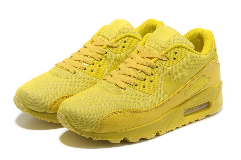 Nike 90s Air Max Premium Yellow Lovers Runnings Shoes