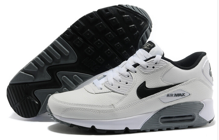 Nike 90 Air Max Split White Black Lover Shoes
