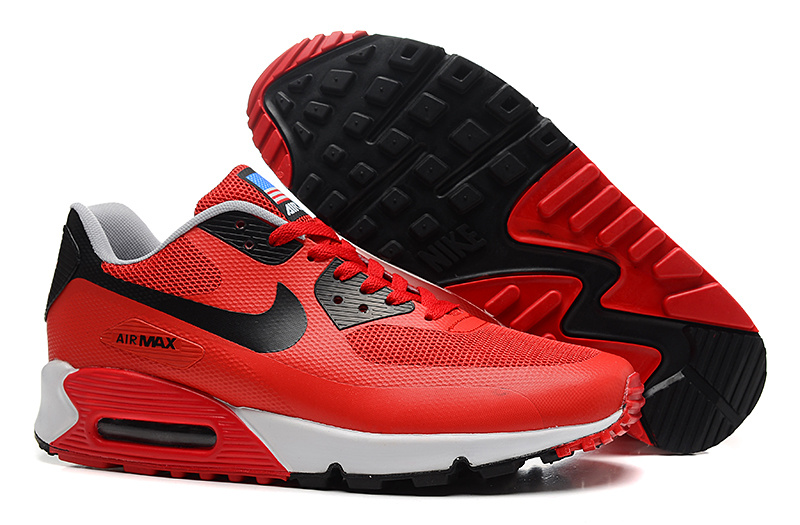 Nike Air Max 90 USA Flag Running Lover Shoes
