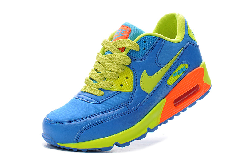 Nike Air Max 90 Cupid Blue Green Running Shoes