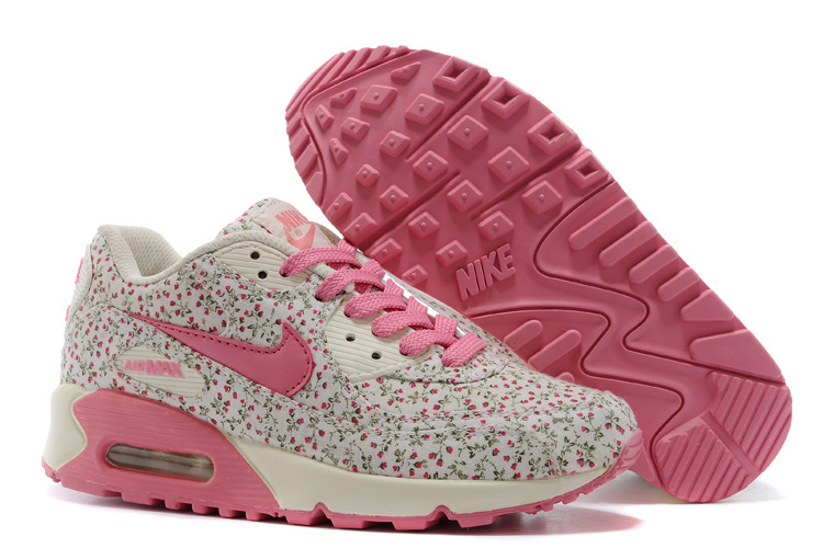 Nike Air Max 90 Leopard Pink Print Women Runnings