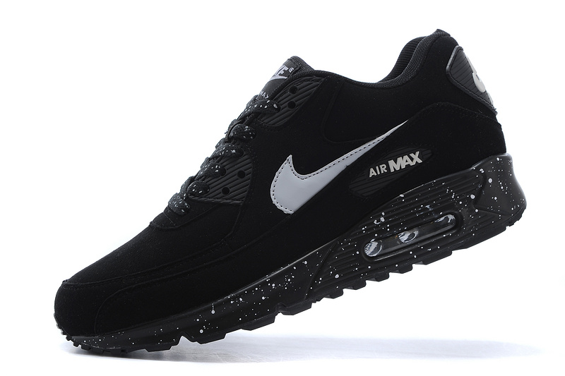 Nike Air Max 90 Sky Black Ink Lovers Running Shoes