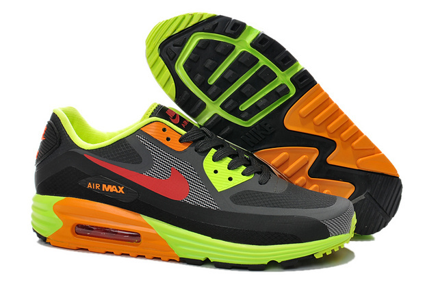 Nike Air Max Black Green Red Women Running SHoes