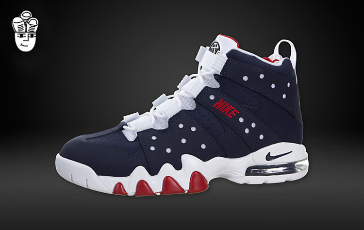 Newly Nike Air Max2 CB 94 Blue White Red Sneaker