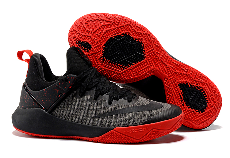 Nike Basketball Team Black Red Shoes
