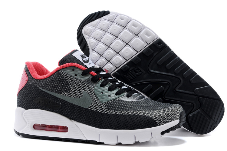 Nike HC 163 Air Max 90 Black Grey Men Running Shoes