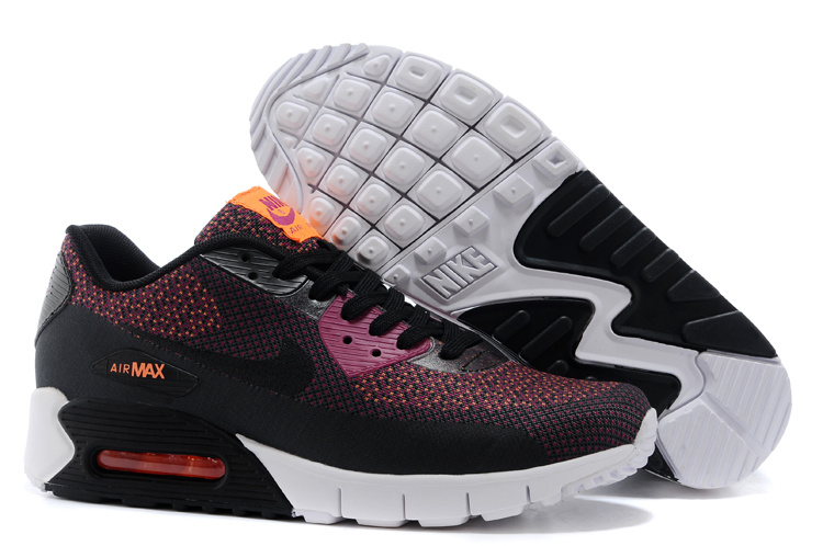 Nike HC 163 Air Max 90 Black Pink Women Running Shoes