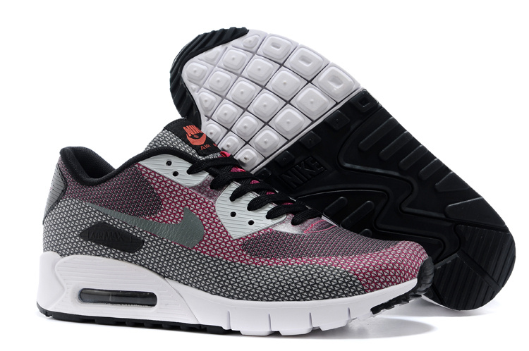 Nike HC 163 Air Max 90 Pink Grey Women Running Shoes